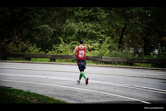 Corriendo en New York Central Park Ruta - USA - Vuelta al Mundo