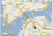 Corriendo en New York City Brooklyn Bridge Ruta - USA - Vuelta al Mundo