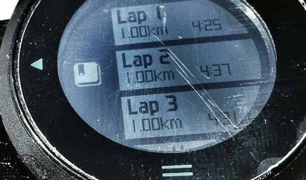 Garmin 610 Laps Kms Entrenamiento GPS HR Training