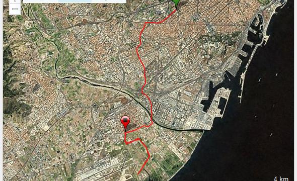 Barcelona - El Prat Aeroport Ruta Correr Training Entrenamiento