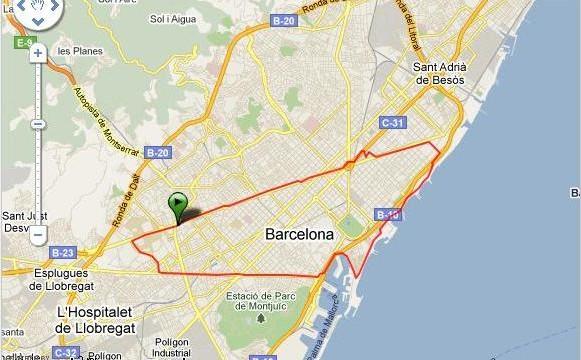 Barcelona Media Maraton Vuelta a BCN