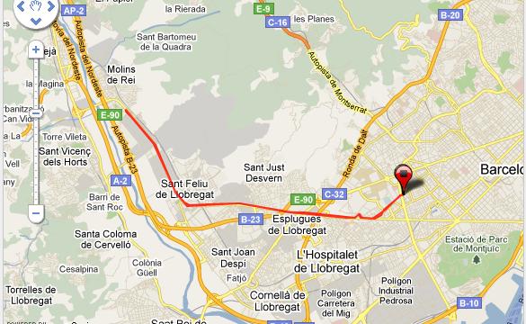 Barcelona Molins de Rei Media Maraton Running Correr Training