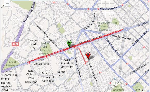 Barcelona Series-de 200m y 400m Entrenamiento Training Running