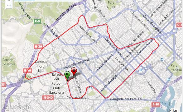 Correr Barcelona 18,5km Entrenamiento BCN Training