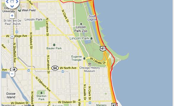 Corriendo en Chicago Ruta - USA - Vuelta al Mundo
