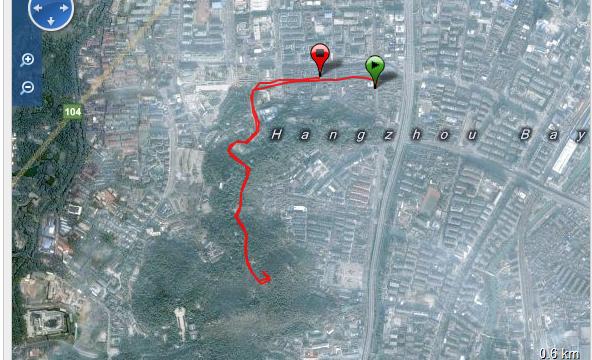 Corriendo en Hangzhou Ruta - China - Vuelta al Mundo