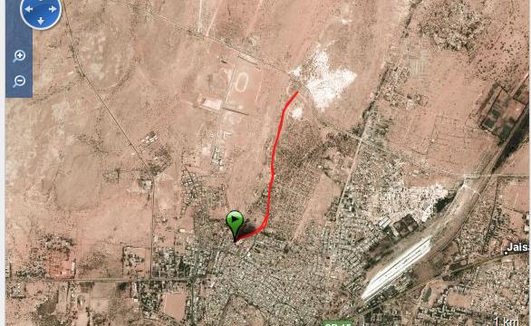 Corriendo en Jaisalmer Ruta - India - Vuelta al Mundo