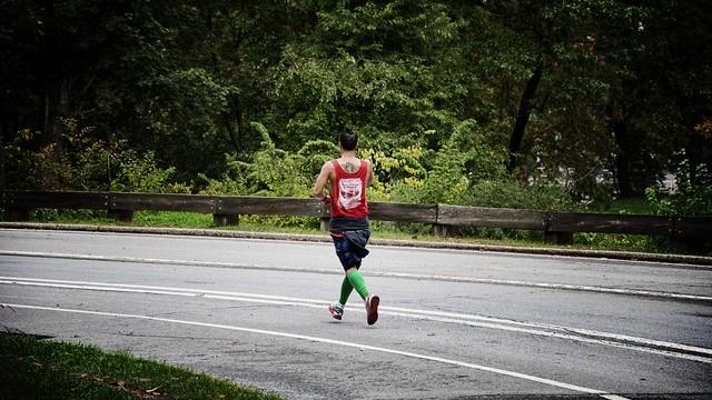 Corriendo en New York Central Park Ruta - USA - Vuelta al Mundo