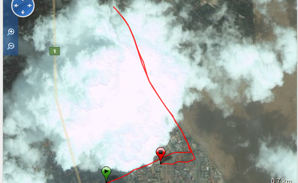 Corriendo en Phnom Phen Ruta - Cambodia - Vuelta al Mundo