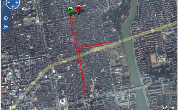 Corriendo en Suzhuo Ruta - China - Vuelta al Mundo
