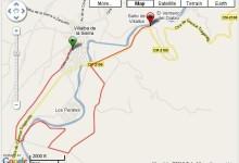 Corriendo en Villalba de la Sierra Ruta - Cuenca España - Vuelta al Mundo
