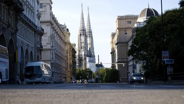 Corriendo en Wien Ruta - Austria España - Vuelta al Mundo