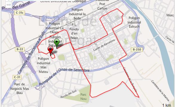 Cursa de El Prat Correr Running Training