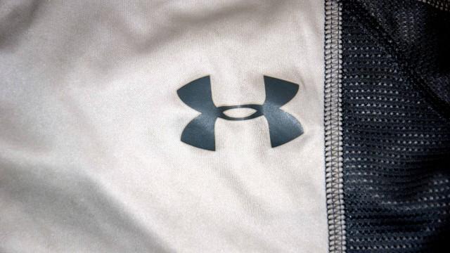 Under Armour white logo